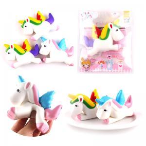 China OEM Squishy Animals Toys Pu Unicorn Slow Rising Cute Stress Relief Jumbo Slow Rising Kawaii Squishy Toy on sale