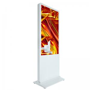 China RAM 8G J1900 65 Inch Interactive Touch Screen Kiosk 500G HDD wholesale