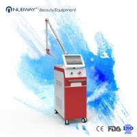 China Q Switched Nd Yag Laser Tattoo Removal Machine 1064nm , 532nm For Pigmentation Removal on sale