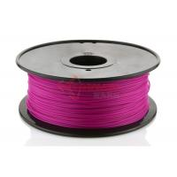 China Purple 1.75MM 3D Printer PLA HIPS ABS Filament Spool For 3D Rapid Prototyping wholesale