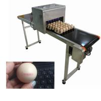 China 12V Industrial Safety Edible Ink Food Inkjet Printer For Different Size Eggs wholesale
