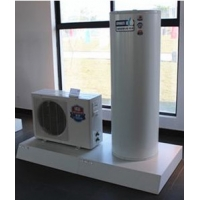 China R22 High COP 200kw EVI Air Source Heat Pump Side Wind IPX4 wholesale