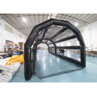 China PVC Baseball Batting Cage Inflatable Sports Games For Kids Adults wholesale