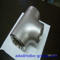 China Sus304 304L 316 316L Stainless Steel Tee , 1-48 inch steel pipe tee wholesale