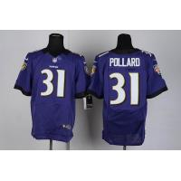China Nike NFL Baltimore Ravens 31 Pollard Purple Elite Jerseys wholesale