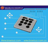 China Waterproof Texture Push Button Membrane Switch Keypad With 3M9448 Adhesive wholesale