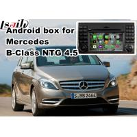 China Mercedes benz B class mirror link android car navigation 8 or 16 GB ROM NTG 4.5 wholesale