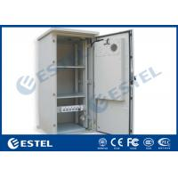 China 19'' Rack High Integration Air Conditioner Cooling System Outdoor Telecom Cabinet wholesale