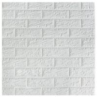 China Classic Brick Design Self Adhesive Wall Panels / Decorative Foam Board Wall Panel on sale