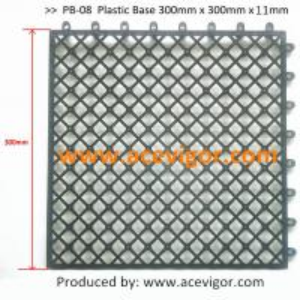 Quality PB-08 Plastic Base, Plastic mats, Plastic tile for sale