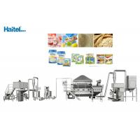 China High Safety Factor Baby Food Processing Equipment Nutrition Rice Powder on sale