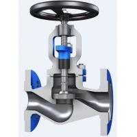 China Through Conduit Pattern Flanged Globe Valve Full Opening with ASTM A 216 Material wholesale