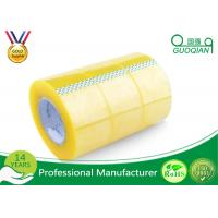 China Pressure Sensitive BOPP Packing Tape Strong Adhesive Single Sided Clear Shipping Tape wholesale