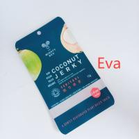 China Mylar Zipper Custom Printed Snack Bags Pure Plastic For Coconut Jerk / Dried Fruit wholesale