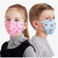 China Children'S Face Mask / 3 ply ear-loop kids disposable protective face mask wholesale