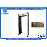 Quality Super Scanner Multi Zone Door Frame Metal Detector Gate Widen Working Frequency for sale