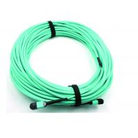 Buy cheap MPO Fiber optic Patch Cord 50 / 125 OM3 12C for High Speed Data Center from wholesalers