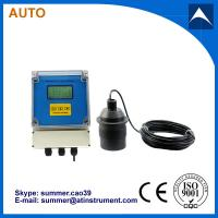 Quality High reliability ultrasonic open channel flow meter with low cost for sale