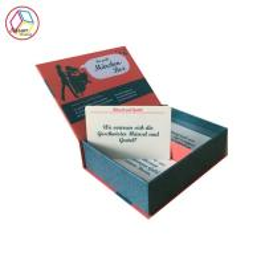 China Colorful Custom Card Printing , Folded Card Printing 300g Ivory Board on sale