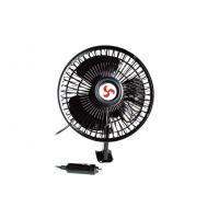 China 6 Inches Oscillating Car Fan DC 12V , Metal + Plastic wholesale