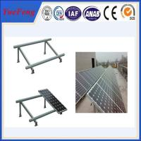 Quality Single cloumn Steel solar panel mounting bracket, Solar panel roof mount kit for sale