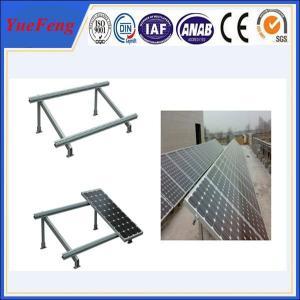 China Single cloumn Steel solar panel mounting bracket, Solar panel roof mount kit on sale