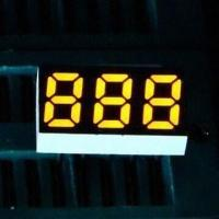 China 0.25 Inch 7 Segment LED Numeric Display in Three Digits, Ideal for Instrument Panels wholesale