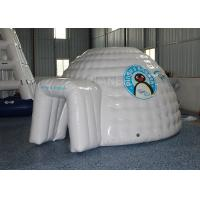China Mini Inflatable Igloo Tent / Blow Up Igloo Tent Playhouse For Rental wholesale