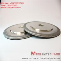 China Electroplated Diamond/ CBN Grinding Wheels for Profile Forming or Surface Grinding of Marble  Alisa@moresuperhard.com wholesale