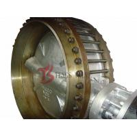 China A216 WCB Wafer Gear Operated Butterfly Valve Class 150LB With Counter Flanges on sale