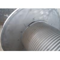 China Grey Offshore Winch , Wire Rope Drum Carbon Steel / Aluminium Alloy / Stainless Steel Materials wholesale