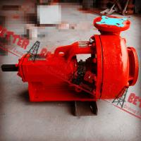 """BETTER Mission Magnum 6x5x14 Centrifugal Sand Pump Complete w/Mechanical Seal RH Impeller 14"""" Red Painting"""