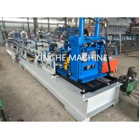 China Automatic Metal Channel Steel Beam C Z Purlin Roll Forming Machine Quick Interchangeable wholesale