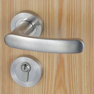 China 6063 Mortise Cylinder Entry Door Locksets For Room / House ANSI Standard wholesale