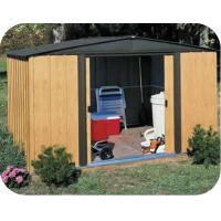 China 6X6ft metal shed with galvanized steel sheet wholesale