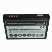 China Mobile Phone Battery for BlackBerry 9100/9105, Fully Decoded 1150mAh Battery Replaces F-M1 wholesale