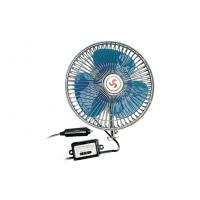 China 8 Inches Oscillating Car Fan DC 12V With Switch For cars / trucks wholesale