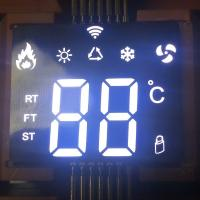 Buy cheap Ultra thin custom SMD White 7 Segment LED Display common anode for air from wholesalers