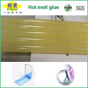 China Eva Hot Melt Adhesive Stick Bar Odorless , Colored Glue Sticks For Hot Glue Gun 11mm on sale