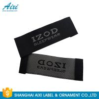 Buy cheap Satin Silk Printing Garment Clothing Label Tags Woven Customize Design from wholesalers