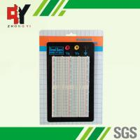 China 1500 Points Black Plate Solderless Breadboard Kit with 3 Binding Posts wholesale