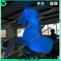 China White Inflatable Horse, Inflatable Horse Costume, Parade Inflatable Costume wholesale