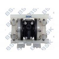 China Engineer Double Plastic Diaphragm Pump Air Driven Rubber / Teflon Diaphragm Pumps wholesale