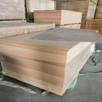 China 18mm E2 Formaldehyde emission Poplar core Plain MDF from China manufacturer wholesale