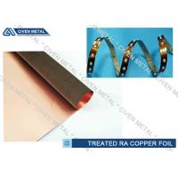 High Performance Rolled Annealed Copper Foil , Thin Copper Foil for Laminating for sale