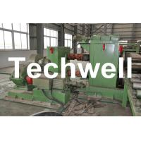 China Horizontal Steel Cut To Length Machine Line To Cut Carbon Steel / Stainless Steel Coils wholesale