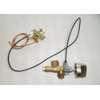 China Brass Gas Safety Valve With Piezoelectric Igniter , SV32 Gas Stove Control Valve wholesale