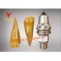 Ground Auger Bit Teeth Good Drilling Tools Abrasion Proof For Road Construction
