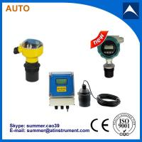 China Low Cost Open Channel Ultrasonic Flow Meter/water level sensor wholesale