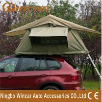 Quality 2 - 3 Person Car Roof Tent Camping 4WD 4 X 4 Rooftop Tents Canvas for sale